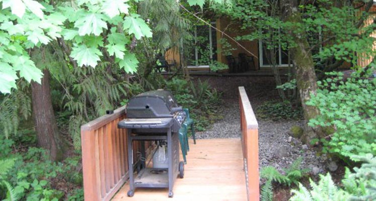 Welches Cabins Barbeque